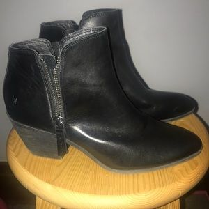 Frye booties only worn once!